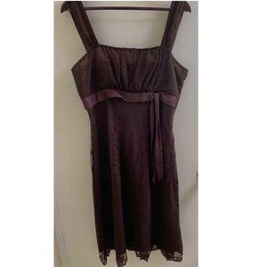 BANDOLINO Chocolate Lace Dress